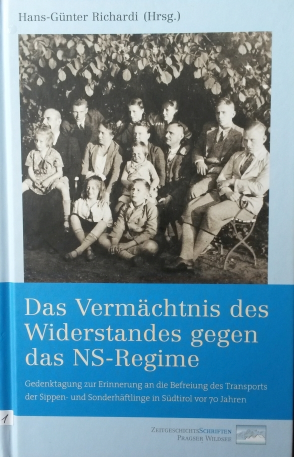Titelbild Band 4 ZeitgeschichtsSchriften Pragser Wildsee