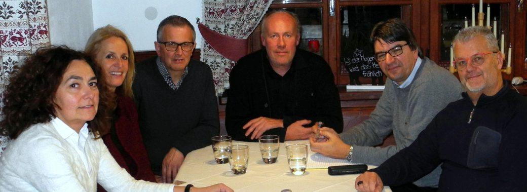 Sitzung des Vorstandes am 1. Dezember 2016 im Hotel Pragser Wildsee