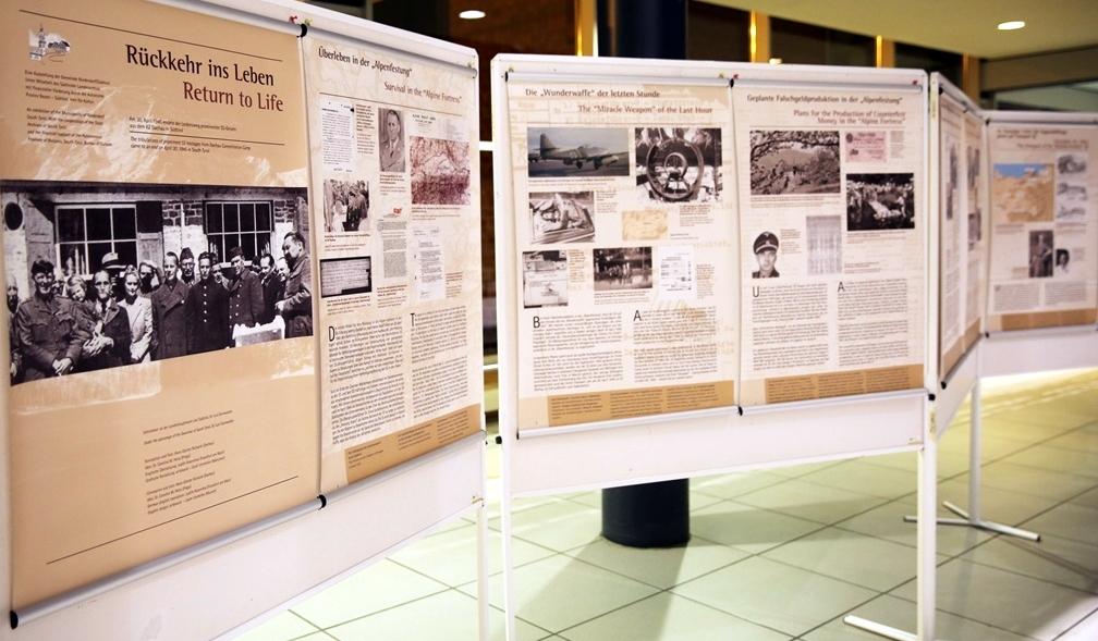 Die Ausstellung in Bernau bei Berlin